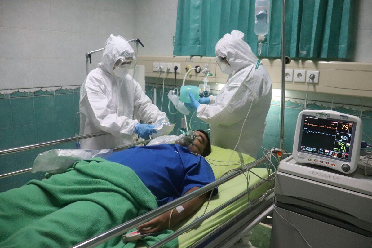 Les personnels soignants hospitaliers en première ligne contre le COVID 19