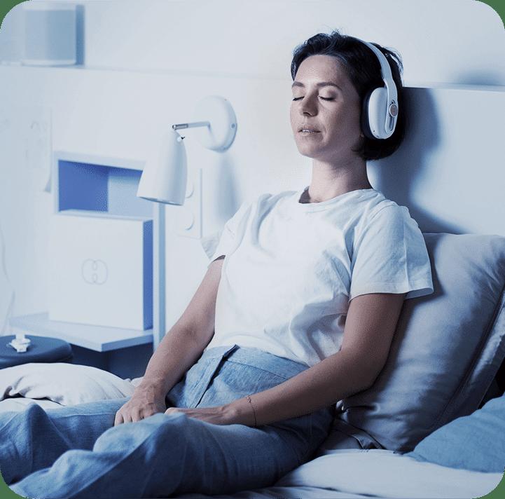 Univers sonore propice à l'endormissement